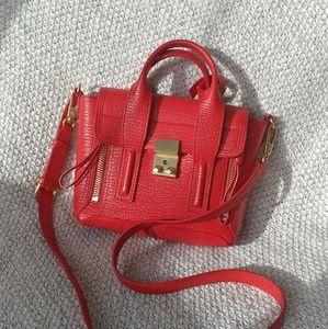 Phillip Lim 3.1 Pashli Mini Hot Red Satchel
